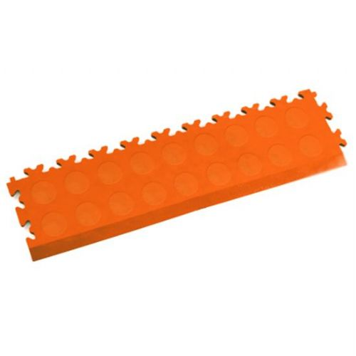 MotoLock Interlocking Tile Edging (Orange CoinTop)